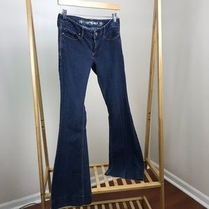 Express • Flare Stella Low Rise Jeans Size 4